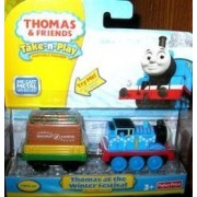 Thomas the Train & Friends Take-n-play Portable Railway Thomas At the Winter Festival by Fisher-Price (English Manual)