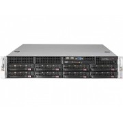 SERVER SYSTEM 2U BLACK/SYS-6027R-73DARF SUPERMICRO
