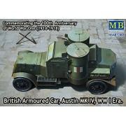 Maestro Box MB72008 - 1/72 British Armoured Car, Austin, MK IV, época de la Primera Guerra Mundial
