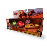 Disney Pixar CARS Radiator Springs 500 1/2 Exclusive 3-Pack with Off-Road Lightning McQueen, Shifty Sidewinder and Stanley Days Ramone