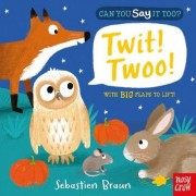 Can You Say it Too? Twit Twoo by Sebastien Braun