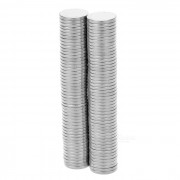 Super-Strong Rare-Earth RE Magnets (8mm / 100-Pack) Suitable for Extending 18650/CR123A Batteries