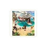 Tapet pentru copii Piratii si Aventura Comorii