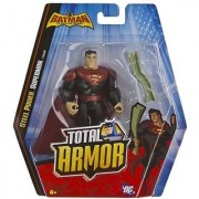 Steel Power Superman ~5 Figure: Batman The Brave and the Bold Total Armor Series