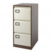 Filing Cabinet 3 Drawer Coffee/Cream