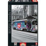 Educa - 16358 - Puzzle Classique - Tram De Gand - Belgique - 500 Pièces