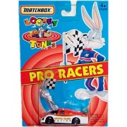 Matchbox Looney Tunes Pro Racers Bugs Bunny Looney Tunes Racing #1 Miniature Race Car (1:64 Scale)