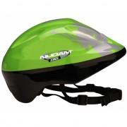 Groene fietshelm voor kinderen
