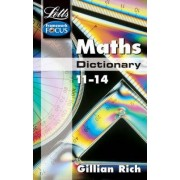 Letts Key Stage 3 Subject Dictionaries: Maths Dictionary Age 11-14 by Gillian Rich