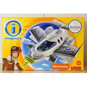 Fisher-Price - Imaginext - Action Tech - Jet - with Figure and Extra by Imaginext