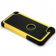 Yellow Defender Tradesman Case for iPod Touch 5 Heavy Duty