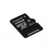 Card de memorie Micro SD Kingston, 128GB, SDC10G2/128GBSP, Clasa 10, fara adaptor SD