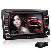 """""""VW04: 2DIN Autoradio mit Navigation und Bluetooth (Volkswagen, Seat, Skoda) (B-Ware)"""""""