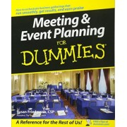 Meeting and Event Planning For Dummies by Susan Friedmann