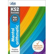 KS2 Maths Mental Arithmetic Age 8-9 SATs Practice Workbook by Letts KS2