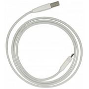 Kabel USB - micro USB biały 1m