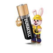 Pile Duracell Plus - ministilo - AAA - 1,5 V - MN2400B4 (conf.4) - 068967 - Duracell