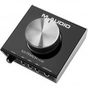 .M-Audio M-Track Hub, Interface de Áudio Compacta, Usb