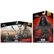 Disney Infinity 3.0 Star Wars Force Awakens Set: Kylo Ren + Rey + Finn NEW