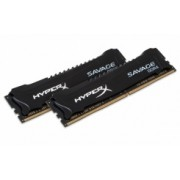 Memoria RAM Kingston HyperX Savage DDR4, 2400MHz, 8GB (2 x 4GB), CL12, XMP, 1.35v