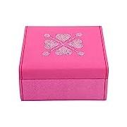 Friedrich / 23 Women's Trinket Box - 20102-4 Baccara, Plastic pink