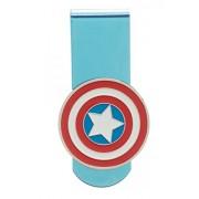 Marvel Captain America Shield Logo Money Clip