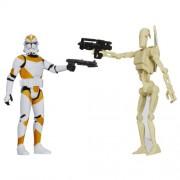 Figuras Star Wars Mission Series: Utapau Battle Droid and 212th Battalion Clone Trooper