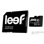 Card memorie Leef microSDHC cu adaptor SD 128GB