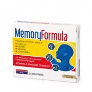 Memory Formula Vitamine B Ginseng Gingko - Vitalfactors - 30 Compresse