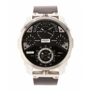 Diesel DZ7379 Silver-Tone Black Machinus Watch 6