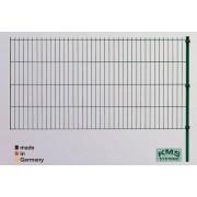 KMS Ergänzungs Set 2 m Easy-B-Easy, 203 cm Zaunhöhe, grün RAL 6005