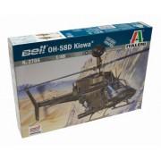 Italeri 510002704 - Modellino elicottero OH-58D Kiowa in scala 1:48