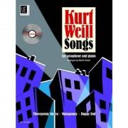 Universal Edition - Kurt Weill Songs Saxophone Reiter, Sax, (Klav) - CD