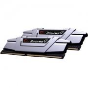 Memorie G.Skill Ripjaws V Radiant Silver 16GB (2x8GB) DDR4 2666MHz CL15 1.2V Dual Channel Kit, F4-2666C15D-16GVS