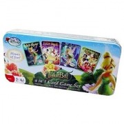 Disney Tinkerbell 4 in 1 Card Games Tin [Card Game Box Set]