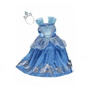 New George Disney Princess Cinderella Fancy Dress Outfit Book Day Costume [7-8] ...