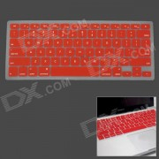 """Silicone Keyboard Protective Cover for Apple MacBook Pro 13"""" / 15"""" / 17"""" - Red"""
