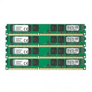 Kingston KVR1333D3N9K4/32G Memoria RAM da 32 GB, 1333 MHz, DDR3, Non-ECC CL9 DIMM Kit (4x8 GB), 240-pin, 1.5 V