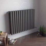 Ximax Fortuna Duplex Vertical Radiator Anthracite, (H)600 mm (W)826 mm