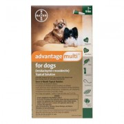 Advantage Multi (Advocate) Small Dogs 3-9 lbs (Green) 12 DOSES