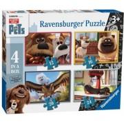 Secret Life of Pets Puzzel (4 in 1)