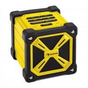 auna TRK-861 Bluetooth-Lautsprecher mobil Akku Outdoor gelb