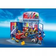 Playmobil My Secret Motorcycle Workshop Play Box (6157)