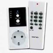 Kit de enchufe por control remoto, función on/off y temporizador
