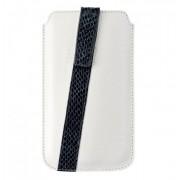 HUGO BOSS Mondaine M - луксозен кожен калъф за iPhone 5, iPhone 5S, iPhone SE, iPhone 5C