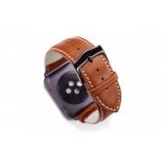 dbramante1928 Copenhagen Apple Watch bandje 42mm grijs/bruin