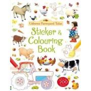 Farmyard Tales Sticker and Colouring Book by Felicity Brooks