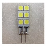 Bec LED 2W 12LED SMD Bulb 12V G4 Alb Rece