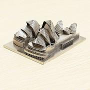 Zoyo Sydney Opera House DIY 3D Laser Cut Modelos Puzzle