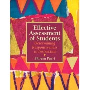 Effective Assessment of Students by Shireen Pavri